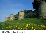 Купить «medieval fortified castle at Coucy-le-Chateau-Auffrique, Aisne department, Picardy region, northern France, Europe.», фото № 16081791, снято 14 марта 2015 г. (c) age Fotostock / Фотобанк Лори