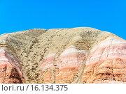 Купить «Гора Большое Богдо, Астраханская область, Россия», фото № 16134375, снято 9 июня 2015 г. (c) Валерий Смирнов / Фотобанк Лори