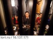 Купить «Friends in Yokochou restaurant, Ebisu Tokyo, Japan.», фото № 16137171, снято 15 июля 2020 г. (c) age Fotostock / Фотобанк Лори