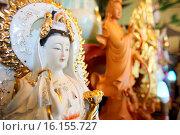 Купить «Quan Am Bodhisattva of compassion, Tu An Buddhist temple.», фото № 16155727, снято 19 октября 2018 г. (c) age Fotostock / Фотобанк Лори