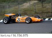 Dutch GP, Zandvoort, June 21st 1970. Andrea de Adamich, McLaren Alfa Romeo. Стоковое фото, фотограф GP Library \ UIG / age Fotostock / Фотобанк Лори