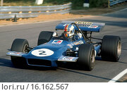 Canada, Mont-Tremblant, 20th September 1970. Francois Cevert, Tyrrell-March, finished 9th. Стоковое фото, фотограф GP Library \ UIG / age Fotostock / Фотобанк Лори