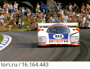 Brian Redman, Michael Roe, Costas Los' Aston Martin AMR1, finished 11th at Le Mans, France 10 June 1989. Стоковое фото, фотограф GP Library \ UIG / age Fotostock / Фотобанк Лори