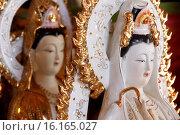 Купить «Tu An Buddhist temple, Quan Am bodhisattva of compassion or goddess of Mercy.», фото № 16165027, снято 19 октября 2018 г. (c) age Fotostock / Фотобанк Лори