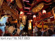 Купить «Japan, Tohoku Region, Akita Prefecture, Kazuno, View of Hanawa-Bayashi Festival.», фото № 16167083, снято 16 июля 2019 г. (c) age Fotostock / Фотобанк Лори