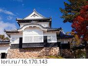 Купить «Japan, Sanyo Region, Okayoma Prefecture, Takahashi, Bitchu Matsuyama Castle.», фото № 16170143, снято 26 марта 2019 г. (c) age Fotostock / Фотобанк Лори