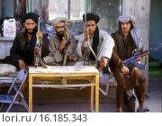 Купить «taliban fighters in Afghanistan.», фото № 16185343, снято 23 июля 2019 г. (c) age Fotostock / Фотобанк Лори