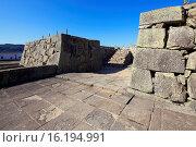 Купить «Japan, Sanyo Region, Okayama Prefecture, Tsuyama, View of Tsuyama castle trace.», фото № 16194991, снято 19 февраля 2019 г. (c) age Fotostock / Фотобанк Лори
