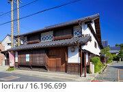 Купить «Japan, Chugoku Region, Okayama Prefecture, Tsuyama, Mimasaka Joto mansion.», фото № 16196699, снято 19 февраля 2019 г. (c) age Fotostock / Фотобанк Лори