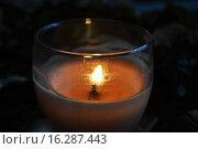 Свеча. Стоковое фото, фотограф Екатерина Романенко / Фотобанк Лори