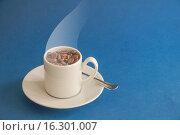 Купить «Cup of cofee beans.», фото № 16301007, снято 10 сентября 2013 г. (c) age Fotostock / Фотобанк Лори