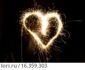 Огненное сердце. Стоковое фото, фотограф Алексей Чубов / Фотобанк Лори