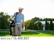 Купить «Golf», фото № 16409807, снято 20 августа 2015 г. (c) Raev Denis / Фотобанк Лори