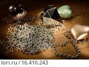 Новогодняя композиция. Стоковое фото, фотограф Максим Колесов / Фотобанк Лори