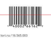 Купить «Macro photograph of a bar code», фото № 16565003, снято 19 апреля 2008 г. (c) easy Fotostock / Фотобанк Лори