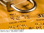 Купить «Credit Card Security», фото № 16607587, снято 10 декабря 2019 г. (c) easy Fotostock / Фотобанк Лори
