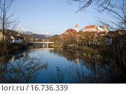 Купить «Füssen», фото № 16736339, снято 21 января 2018 г. (c) easy Fotostock / Фотобанк Лори