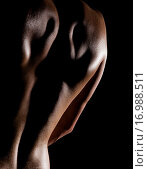 Мужская спина. Стоковое фото, фотограф Екатерина Рыжова / Фотобанк Лори
