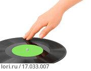 Купить «DJ hand and disk», фото № 17033007, снято 26 мая 2020 г. (c) easy Fotostock / Фотобанк Лори