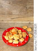 Купить «Домашнее печенье с сахаром», фото № 17058631, снято 20 декабря 2015 г. (c) Наталья Осипова / Фотобанк Лори