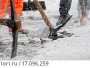 Купить «ice is chopped from the footway», фото № 17096259, снято 18 августа 2018 г. (c) easy Fotostock / Фотобанк Лори