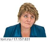 Портрет женщины средних лет. Стоковое фото, фотограф Оксана Якупова / Фотобанк Лори