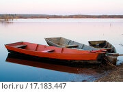 Купить «Three boats», фото № 17183447, снято 16 октября 2019 г. (c) easy Fotostock / Фотобанк Лори