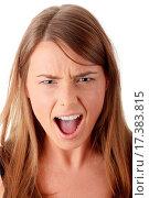 Купить «Scream», фото № 17383815, снято 22 июля 2019 г. (c) easy Fotostock / Фотобанк Лори