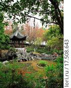 Chinese garden. Стоковое фото, фотограф Leung Cho Pan / easy Fotostock / Фотобанк Лори