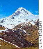 Купить «Kazbek mountains, Georgia», фото № 17523979, снято 18 апреля 2020 г. (c) PantherMedia / Фотобанк Лори