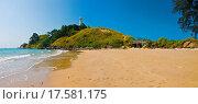 Купить «Panoramic shot of a tropical beach», фото № 17581175, снято 25 марта 2019 г. (c) easy Fotostock / Фотобанк Лори