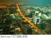 Купить «Day and night change in a big city», фото № 17586935, снято 25 марта 2019 г. (c) easy Fotostock / Фотобанк Лори