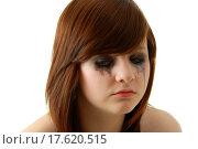 Купить «Crying girl with makeup», фото № 17620515, снято 22 июля 2019 г. (c) easy Fotostock / Фотобанк Лори