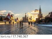ГУМ-Каток на Красной площади, фото № 17740367, снято 17 декабря 2015 г. (c) Николай Сачков / Фотобанк Лори