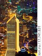 Купить «View to Kuala Lumpur Malaysia at night», фото № 17741831, снято 21 августа 2018 г. (c) easy Fotostock / Фотобанк Лори
