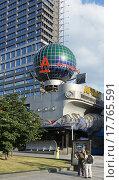 Купить «Москва, улица Новый Арбат, дом 21», эксклюзивное фото № 17765591, снято 14 июля 2012 г. (c) Dmitry29 / Фотобанк Лори