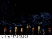 Купить «Smoking Candles», фото № 17845863, снято 11 декабря 2018 г. (c) easy Fotostock / Фотобанк Лори