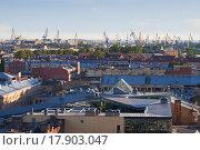 Портовые краны (2011 год). Стоковое фото, фотограф Верстуков Виктор / Фотобанк Лори