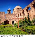 Купить «San Antonio Mission San Juan in Texas», фото № 17910439, снято 18 ноября 2017 г. (c) easy Fotostock / Фотобанк Лори