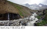 Река в Кавказских горах. Стоковое фото, фотограф Daniil Nasonov / Фотобанк Лори