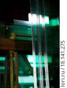 Купить «Glass panels stored», фото № 18141275, снято 16 июля 2018 г. (c) easy Fotostock / Фотобанк Лори