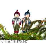 Старые новогодние  игрушки. Стоковое фото, фотограф Дрогавцева Оксана / Фотобанк Лори