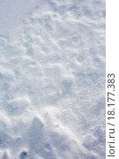 Купить «Snow surface full frame background texture pattern», фото № 18177383, снято 19 октября 2018 г. (c) easy Fotostock / Фотобанк Лори
