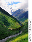 Caucasus mountains Dombai. Стоковое фото, фотограф Yuliya / easy Fotostock / Фотобанк Лори