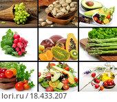 Купить «Healthy Food», фото № 18433207, снято 22 июня 2018 г. (c) easy Fotostock / Фотобанк Лори