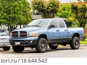 Купить «Dodge Ram», фото № 18644543, снято 20 ноября 2015 г. (c) Art Konovalov / Фотобанк Лори
