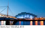 Clydeside panorama at dusk. Стоковое фото, фотограф Gordon Saunders / easy Fotostock / Фотобанк Лори