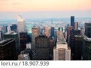 Купить «New York City Manhattan skyline», фото № 18907939, снято 20 января 2020 г. (c) easy Fotostock / Фотобанк Лори