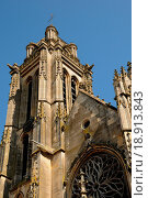France, the exterior of the Pontoise cathedral. Стоковое фото, фотограф Hallé / easy Fotostock / Фотобанк Лори