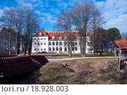 Купить «medieval Lithuanian castle Birzai», фото № 18928003, снято 2 июня 2020 г. (c) easy Fotostock / Фотобанк Лори
